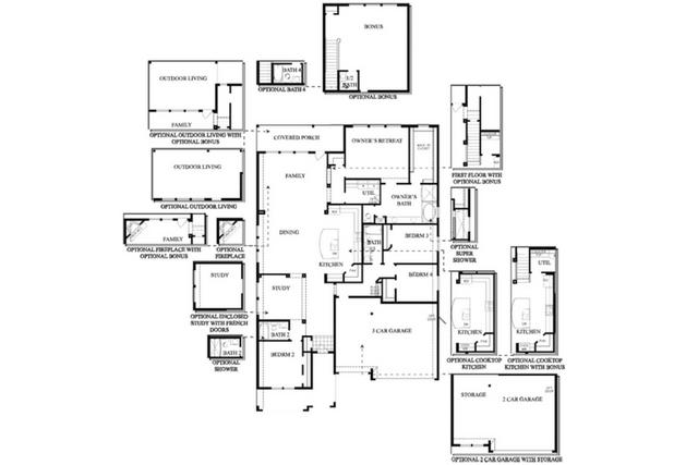 david weekley floor plans build on your lot modern home