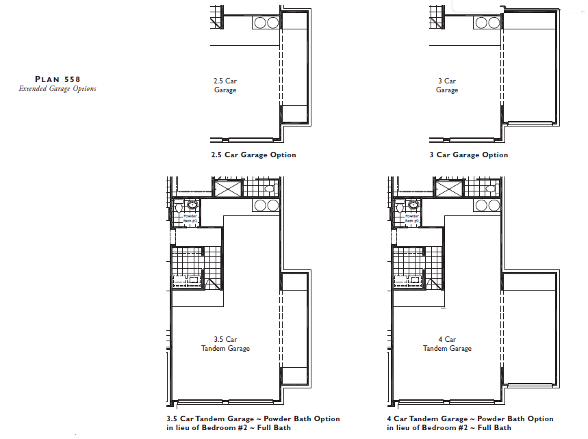Highland 55 Floor Plan 558 Garage Options .PNG