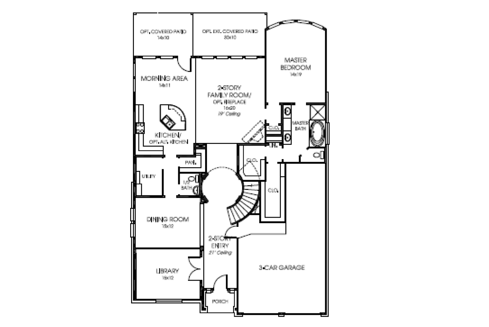 Perry 55 3261 W Floor Plan  1st floor w options.PNG