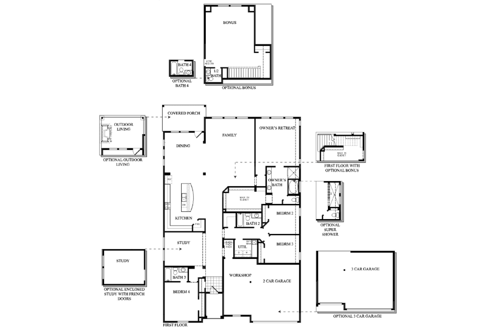 Old David Weekley Floor Plans Floor Plan Ideas