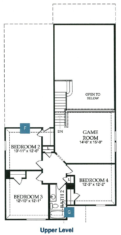 Pulte-Hamilton, 2nd floor plan.png