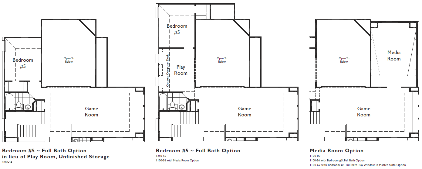 HH 55 - Plan 537, Upper Level - bdrm 5, media rm options.png