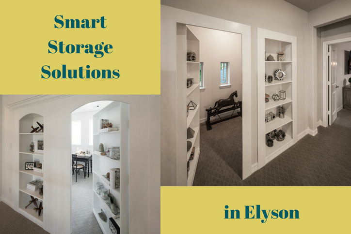 From Hidden Rooms To Family Foyers, Todayu0027s Builders Offer Smart Storage  Solutions