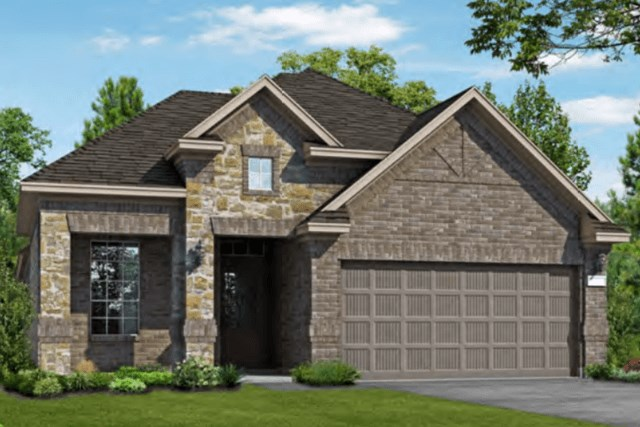 Chesmar Homes New Home Plan 3102 Calida Elevation CS in Elyson Katy, TX