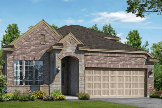 Chesmar Homes New Home Plan 3102 Calida Elevation AS in Elyson Katy, TX