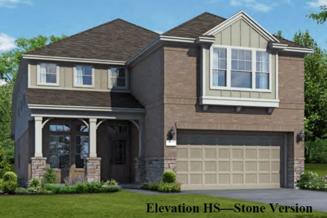 Chesmar Homes New Home Plan 3042 Elena Elevation HS in Elyson Katy, TX
