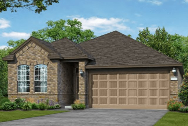 Chesmar Homes New Home Plan 3092 Lanai Elevation AS in Elyson Katy, TX