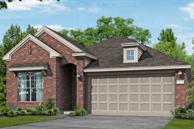 Chesmar Homes New Home Plan 3092 Lanai Elevation B in Elyson Katy, TX