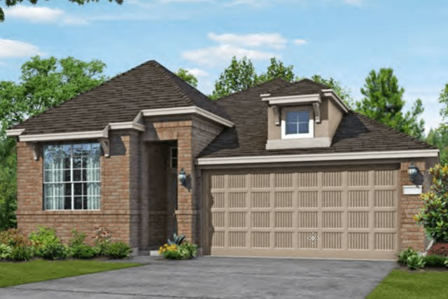 Chesmar Homes New Home Plan 3092 Lanai Elevation C in Elyson Katy, TX