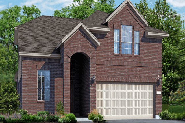 Chesmar Homes New Home Plan 3132 Lorena Elevation A in Elyson Katy, TX