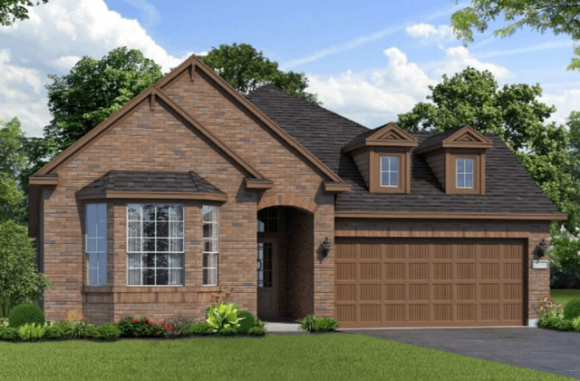 Chesmar Homes New Home Plan 1261 Magnolia Elevation B in Elyson Katy, TX