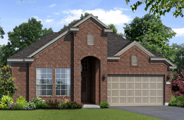 Chesmar Homes New Home Plan 1261 Magnolia Elevation C in Elyson Katy, TX