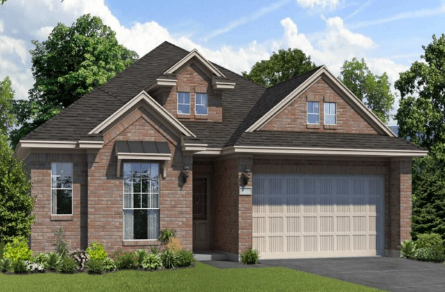 Chesmar Homes New Home Plan 1231 Tupelo Elevation C in Elyson Katy, TX
