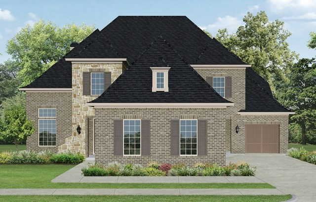 Darling Homes New Home Plan 7490 Elevation B in Elyson Katy, TX