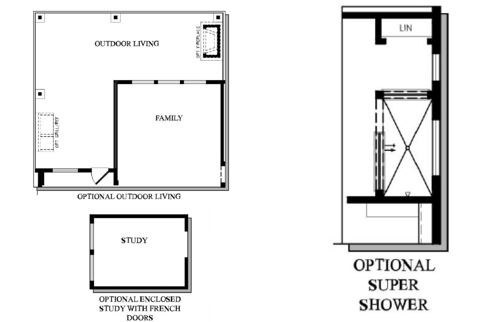 David Weekley Homes Floor Plans Texas: 6922 Russet Oak Lane