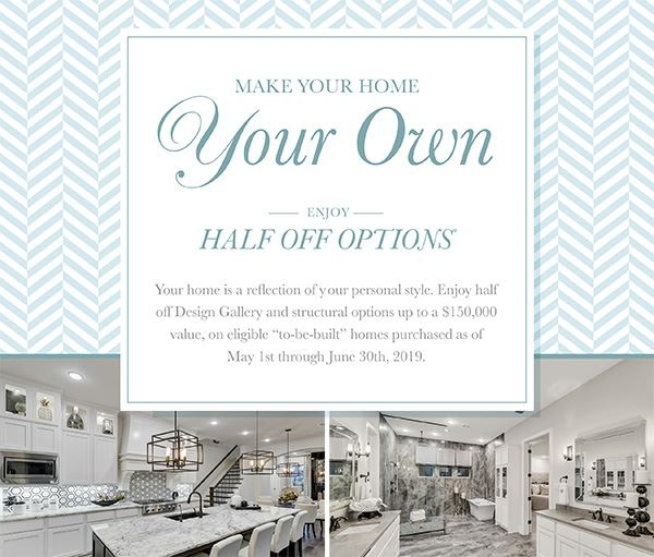 Darling Homes Half Off Options