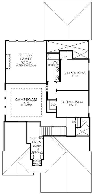 Perry 45 - Plan 2594W, upper level FP.png