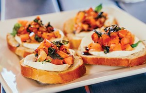 Bruschetta Fresca at Elyson Cafe Restaurant Katy, Texas