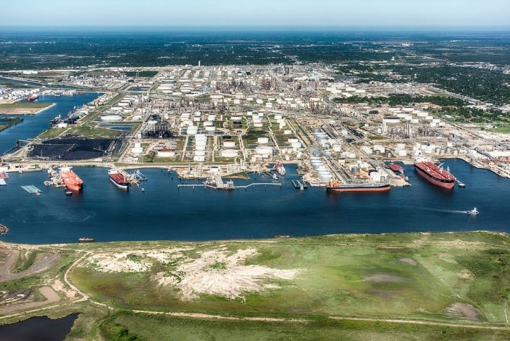 Port of Houson Shipping Channel