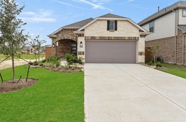 New Home Plan Charleston by Chesmar Homes -  Elyson Community, Katy Texas.