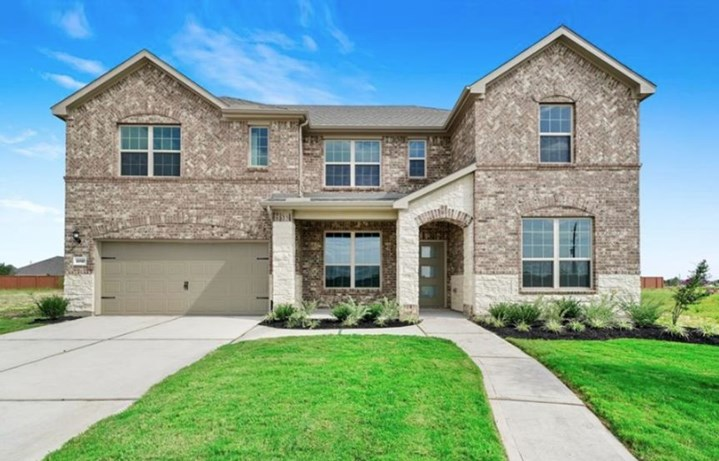 New Home Plan Mansfield by Pulte Homes - Elyson Community, Katy Texas.