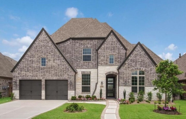 New Home Plan 208 by Highland Homes -  Elyson Community, Katy Texas.