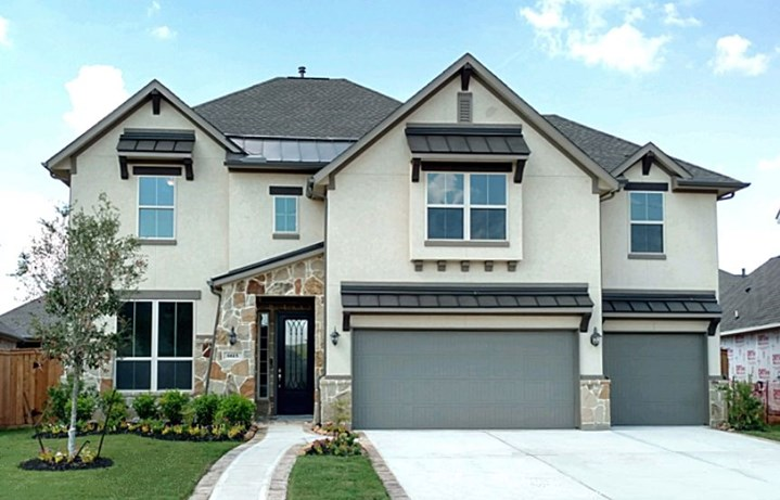 New Home Plan Brittany by Village Homes - Elyson Community, Katy Texas.
