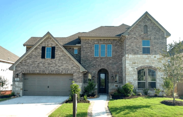 New Home Plan Emery by Westin Homes -  Elyson Community, Katy Texas.
