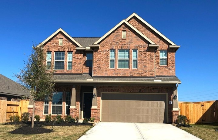 New Home Plan Isabella II by Lennar Homes - Elyson Community, Katy Texas.