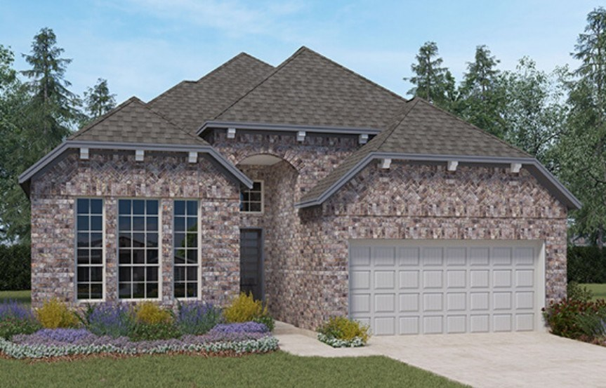 Chesmar Homes New Home Plan 3730 Hillcrest Elevation B in Elyson Katy, TX
