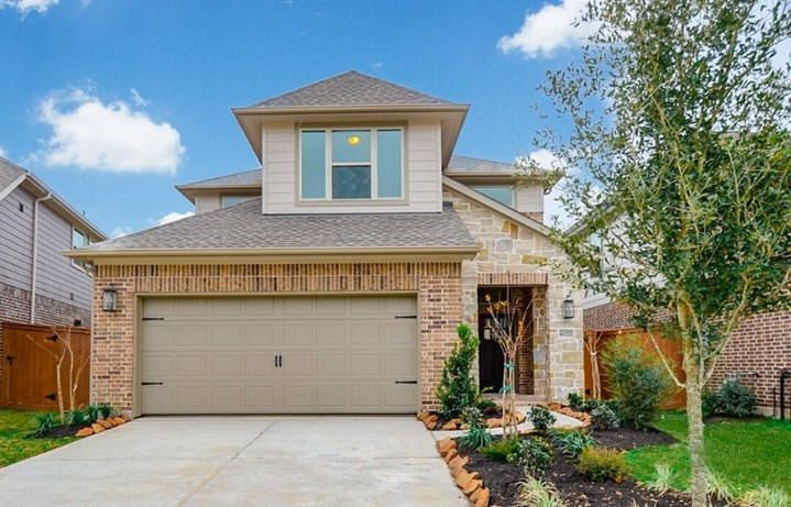 Westin Homes Casa Plan in Elyson Katy, TX - New Home at 6022 Rivercane Way Exterior