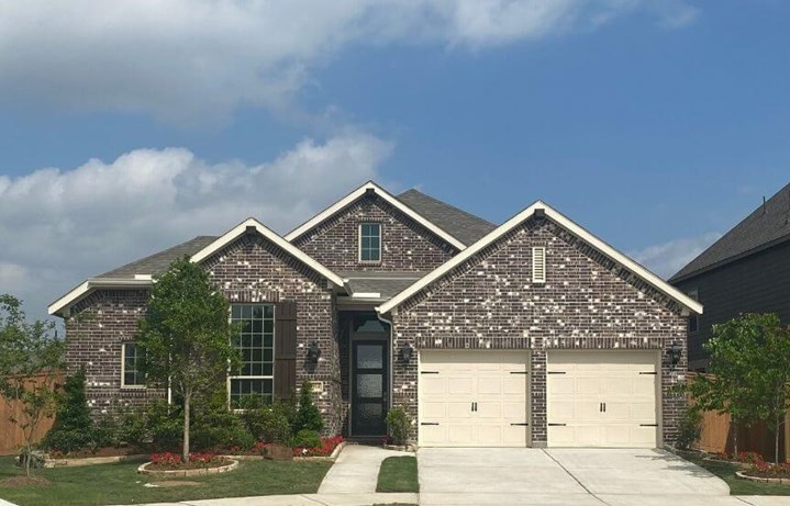 New Home Plan 554C by Highland Homes - Elyson Community, Katy Texas.