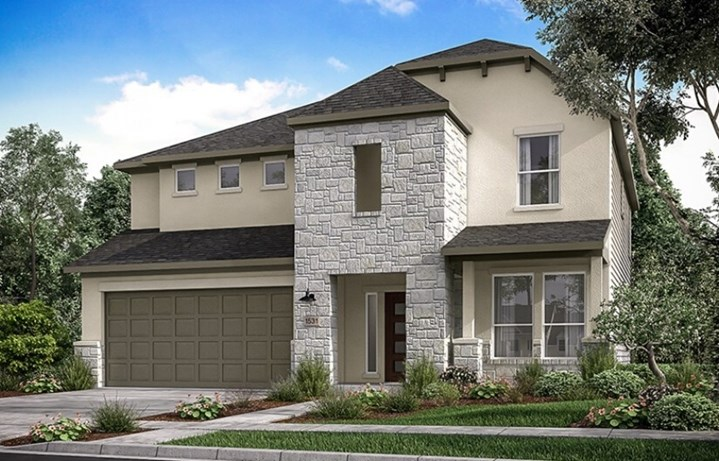 New Home Plan Scarlet by Taylor Morrison - Elyson Community, Katy Texas.
