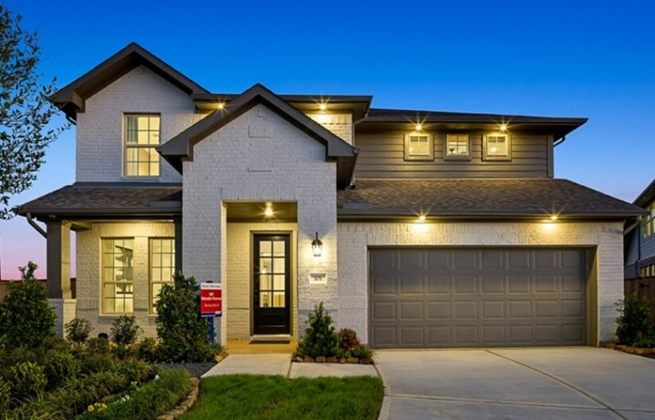 New Home Plan Terracotta by Taylor Morrison - Elyson Community, Katy Texas.