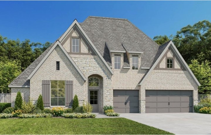 New Home Plan 3295W by Perry Homes - Elyson Community,  Katy Texas.